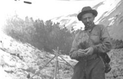 Г.А. Федосеев в экспедиции