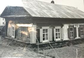Дом в котором проживал Г.А. Федосеев с 1948 по 1954 гг. в г. Зее.