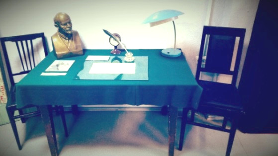Письменный стол Г.А. Федосеева.