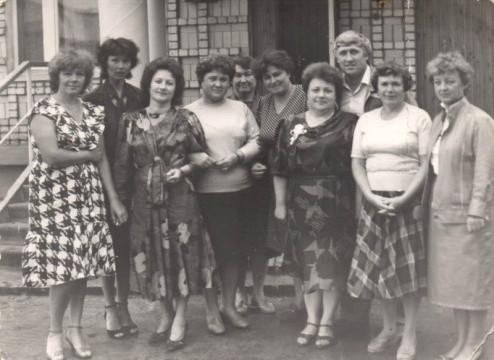 Фото коллектива 1990-е года