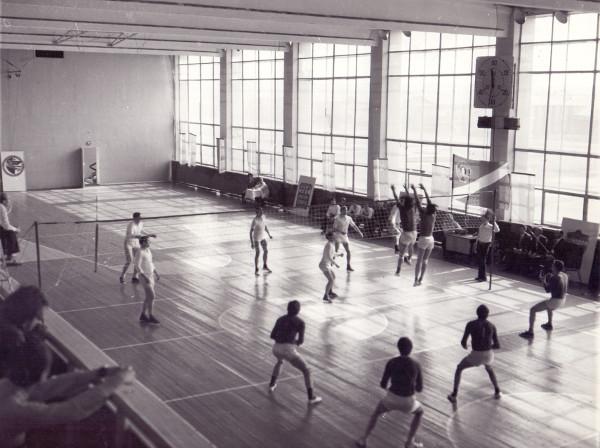 Соревнования на Кубок Амура в спортзале гидростроителей.