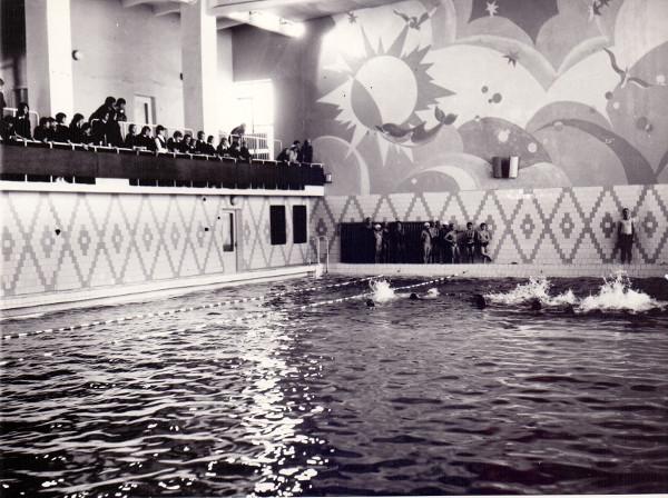 Плавательный бассейн. г. Зея, конец 80-х г.