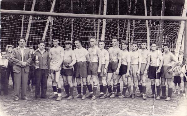 Футбольная команда г. Зеи. 1959 г.