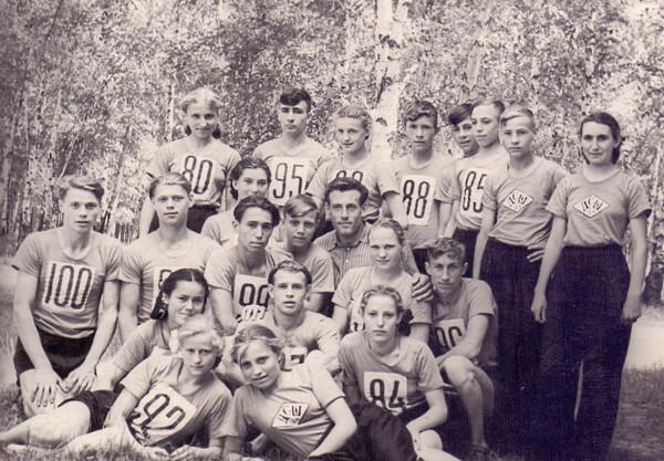 Сборная по легкой атлетике. г. Зея, 1962 г.