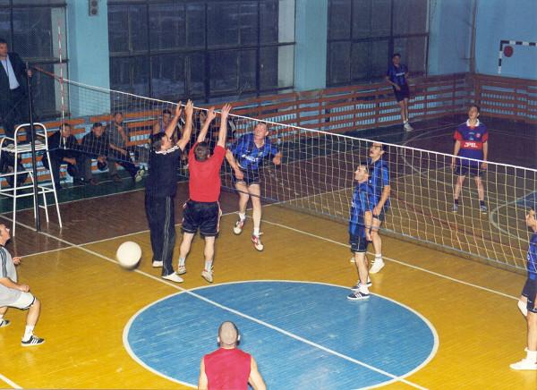 Соревнования по волейболу. г. Зея, 2000-е гг.