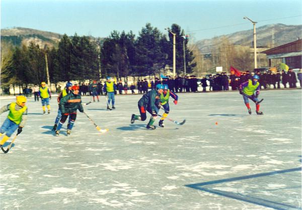 Соревнования по хоккею. г. Зея, 2000-е гг.